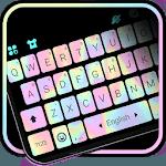 Laser Black Keyboard Theme icon