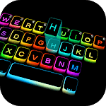 Led Colorful Keyboard Theme icon