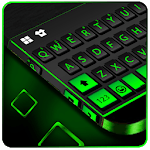 Neon Black Business Keyboard Theme for pc logo