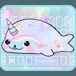 Rainbow Seal Unicorn Keyboard Theme icon