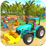 Real Tractor Driving And Tractor Farming icon