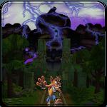 Crash jungle run icon
