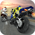 Extreme Mountain Bike Race – Snow Motocross Racing for pc logo
