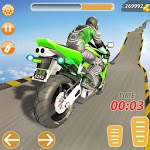 Impossible Bike Mega Ramp Stunts icon