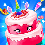 Birthday Cake - Unicorn Food Fever icon
