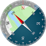 Compass Maps Pro - Digital Compass 360 Free icon