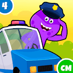 My Monster Town - Police Station Games for Kids icon