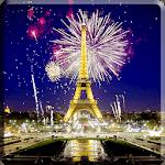 Fireworks in Paris Video LWP icon