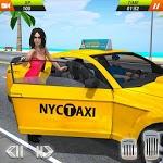 US Taxi Driving Simulator 2019 icon