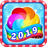 Jelly Crush - Match 3 Games & Free Puzzle 2019 for pc logo