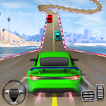 Crazy Car Driving Simulator: Impossible Sky Tracks for pc logo