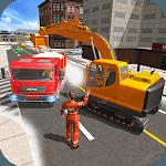 Mega Excavator Simulator - Snow Machine Rescue icon