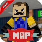 New map for MCPE Mega neighbor Alfa 3 icon