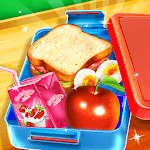 My LunchBox - School Kids Cooking Game icon
