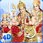 4D Maa Durga Live Wallpaper icon