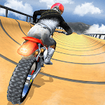 Impossible Mega Ramp Moto Bike Tricky Stunts 2019 icon