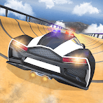 US Police Car Impossible tricky stunts 2019 icon