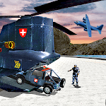 US Police Helicopter Transport: Police Plane Games icon