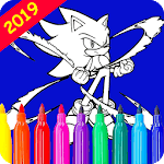 Coloring Book For Sonix icon
