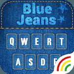 Blue Jeans Keyboard Theme - Emoji & Gif icon