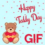 Teddy Day GIF : Valentine Wishes GIF icon