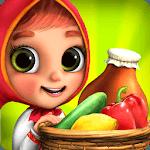 Masha Bear Grocery Store Games, Shopping for Kids for pc logo