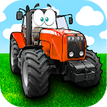 Kids Tractor driving games icon