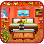 Christmas Interior House Decoration Party icon