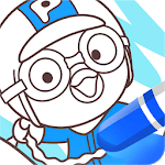 Pororo SketchBook Game - Painting, Color icon