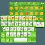 Green Football Emoji Keyboard icon