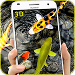 3D Koi Fish Wallpaper HD Fish Live Wallpapers Free for pc logo