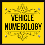 Vehicle Number Numerology icon