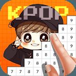 Kpop Idol Pixel Color Art Book icon