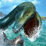 Ultimate Sea Dinosaur Monster World icon