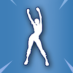 Dances & Emotes from Battle Royale for pc logo