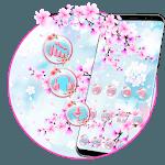 Beautiful Pink Sakura Theme🌸 icon