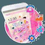 Hello Pretty Girl Theme icon