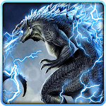 Neon Godzilla Thunder Theme icon