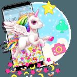Cute Pink Unicorn Gravity Theme icon