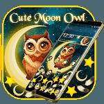 Cute Moon Owl Gravity Theme icon