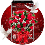 3D Rose Valentine's Day Theme icon