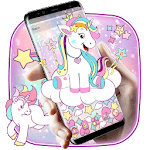 Galaxy Star Unicorn Gravity Theme icon
