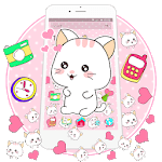 Pink Kitty Princess Gravity Theme icon