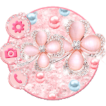 Glitter Flower Themes Live Wallpapers icon