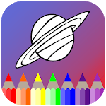 Planets Coloring Book icon