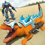 Robot Crocodile City Attack icon