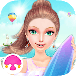 Seaside Salon: Girls Games icon