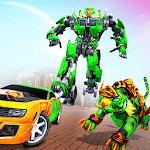 Lion Robot Car: Futuristic Robot Transformation icon