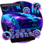 Neon Sports Car Themes HD Wallpapers icon