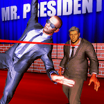 Save Mr. President: Escape plan 2k19 for pc logo